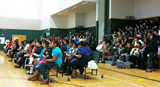 "Figure 1.""The Dream Act"" Community Information Meeting at Salish Elementary."